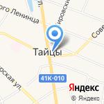 Красный дом на карте Санкт-Петербурга
