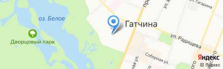 Отдел муниципального контроля Администрации Гатчинского муниципального района на карте Гатчины