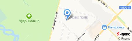 Марго на карте Гатчины