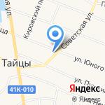 Магазин автозапчастей и хозтоваров на карте Санкт-Петербурга