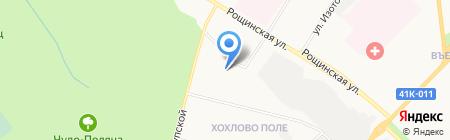 Спортивно-оздоровительный комплекс на карте Гатчины