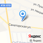 Лесная губерния на карте Санкт-Петербурга