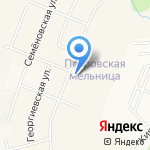 Петровская мельница на карте Санкт-Петербурга