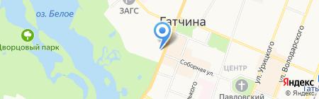 Профсоюз работников народного образования и науки РФ на карте Гатчины