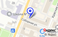 Схема проезда до компании МАГАЗИН ЦИФРОВОЙ ТЕХНИКИ ГАЛАКТИКА в Гатчине