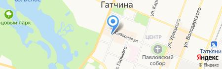 Гатчинская городская прокуратура на карте Гатчины