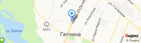 Всероссийское общество автомобилистов на карте Гатчины