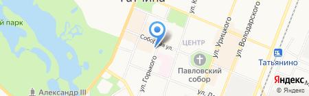 РЕСО-Гарантия ОСАО на карте Гатчины