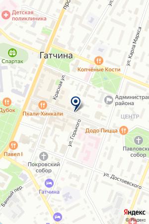 ОХРАННОЕ ПРЕДПРИЯТИЕ ОРДЕН ТАМПЛИЕРОВ на карте Гатчины