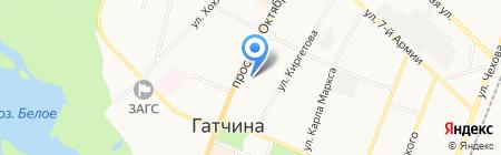 Гатчина-Инфо на карте Гатчины