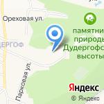 Школа-интернат №289 с углубленным изучением физической культуры на карте Санкт-Петербурга
