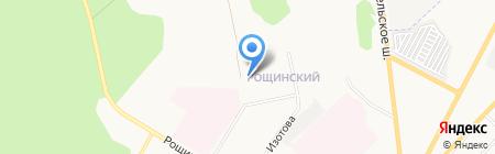 Средняя общеобразовательная школа №8 на карте Гатчины