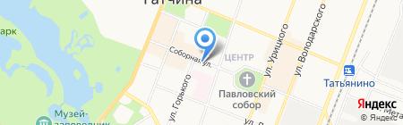 Мой Тбилиси на карте Гатчины