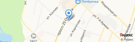 Церковь святого Николая на карте Гатчины
