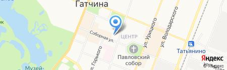 VIP на карте Гатчины