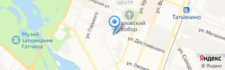 ЖРЭУ №8 на карте Гатчины