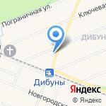 Графское на карте Санкт-Петербурга