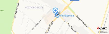 Ева на карте Гатчины