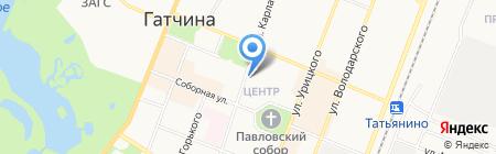 ЕИРЦ на карте Гатчины
