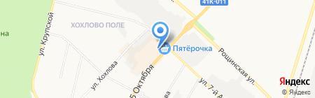 КБ РОСПРОМБАНК на карте Гатчины