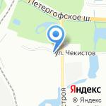 Алмаз на карте Санкт-Петербурга