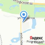 BibiBit на карте Санкт-Петербурга