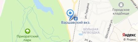 Автостанция г. Гатчины на карте Гатчины