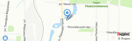 Мастерская по ремонту одежды и обуви на ул. Пионерстроя на карте Санкт-Петербурга