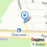 Почтовое отделение №229 на карте Санкт-Петербурга