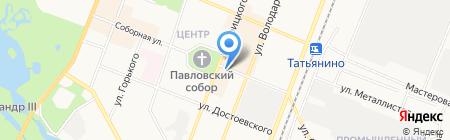 Фармакор на карте Гатчины
