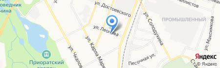 Детский сад №22 на карте Гатчины