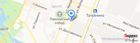 Акбар на карте Гатчины