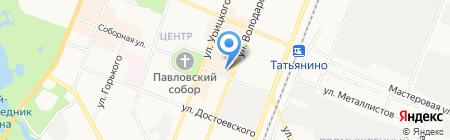 DNS на карте Гатчины