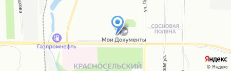 Тиффани на карте Санкт-Петербурга