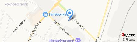 Управление Пенсионного фонда РФ в г. Гатчине и Гатчинском районе на карте Гатчины
