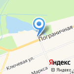 Дибуны на карте Санкт-Петербурга