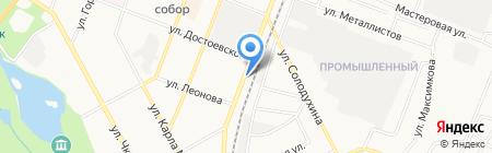 Шиномонтажная мастерская на ул. Чехова (Гатчина) на карте Гатчины