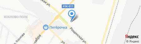 Цветочная мастерская на карте Гатчины