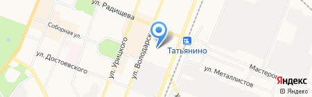 Детский сад №3 на карте Гатчины