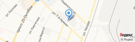Автомойка на ул. 7 Армии на карте Гатчины
