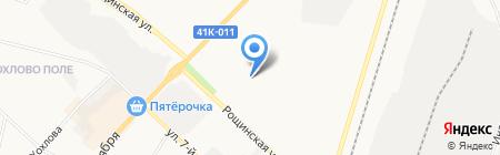 Гатчинский педагогический колледж им. К.Д. Ушинского на карте Гатчины