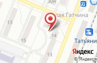 Схема проезда до компании Полигамма в Санкт-Петербурге