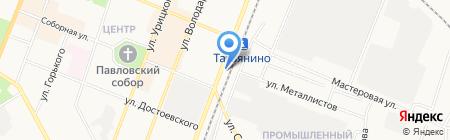 ПЯТОЕ КОЛЕСО на карте Гатчины