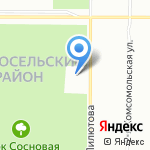Учебная гостиница на карте Санкт-Петербурга