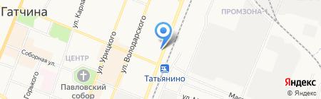 МЕДИКОМ на карте Гатчины