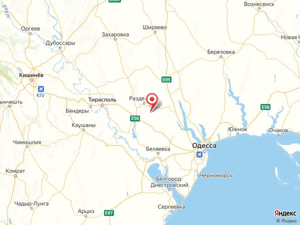 село Покровка на карте