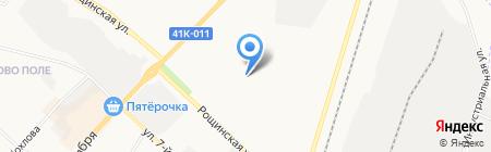 Первая академическая гимназия на карте Гатчины
