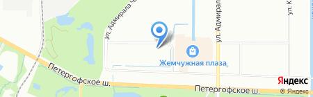 BullHouse на карте Санкт-Петербурга