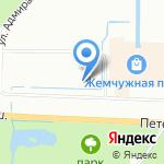 Геона СПб на карте Санкт-Петербурга