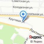 Алее Софтвер на карте Санкт-Петербурга